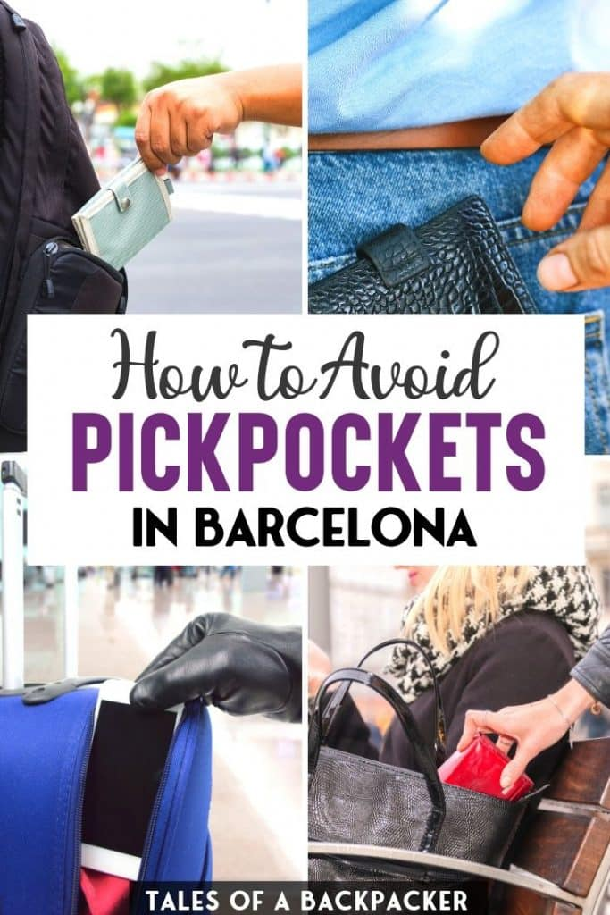 How to Avoid Pickpockets in Barcelona