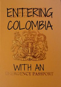 Entering Colombia with an Emergency Passport