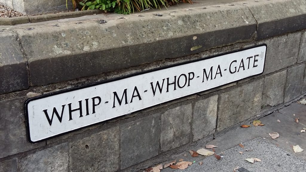 Whip-Ma-Whop-Ma-Gate - A Backpacker's Guide to York on a Budget
