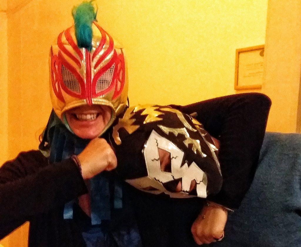 Lucha Libre Mask, Lucha Libre Mexico City, Mexican Wrestling