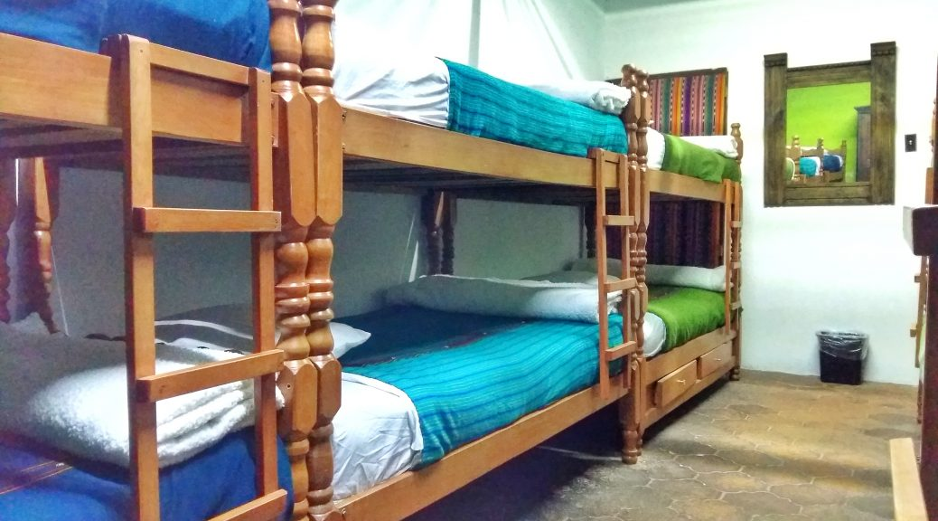 Hostel Dorm Beds - Work Exchange Placements are common in Hostels around the World