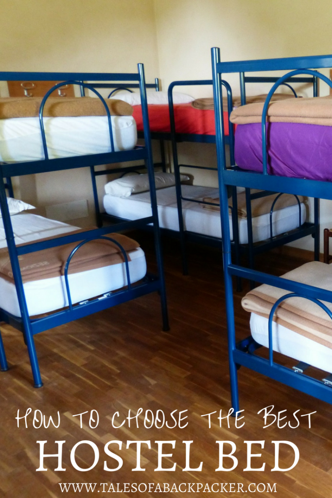 Your first stay in a hostel can be a scary experience, however, I'm here to help you choose the best hostel bed to (almost!) guarantee a good nights' sleep! Travel Tips | Backpacking Tips