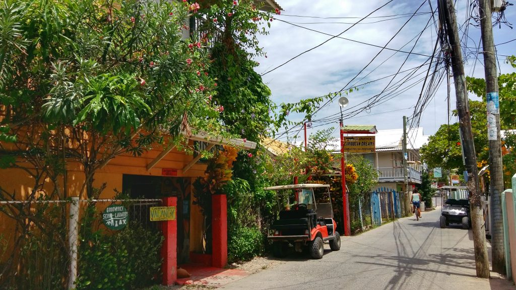 Utila Honduras is a safe little town