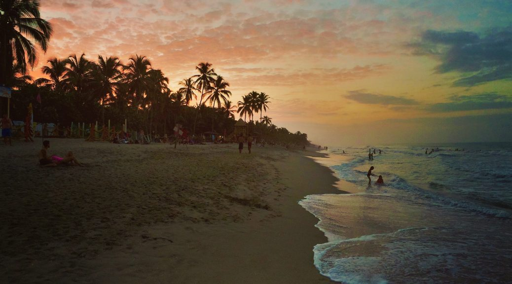 Colombia beach sunset - why visit Colombia