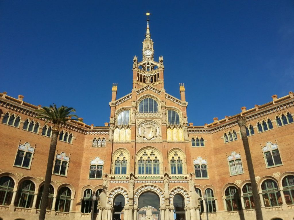Hospital Sant Pau in Barcelona