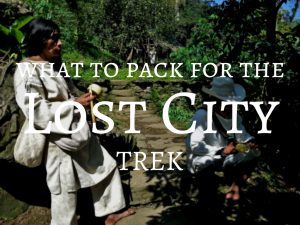 What to pack for the Lost City trek - Backpacking Colombia