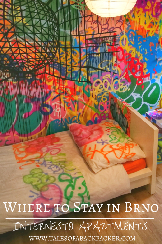 Brno is the Czech Republic's second largest city, and is a great place to visit!  If you are wondering where to stay in Brno, I recommend Internesto Apartments, a fab and funky centrally located apartment.  Read my full Internest Apartments review here!