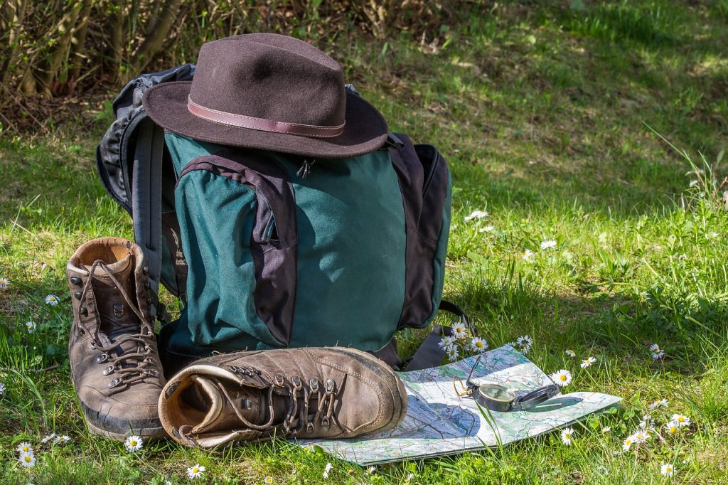 Camping Alone Safely - 7 Solo Camping Tips: Map your Route