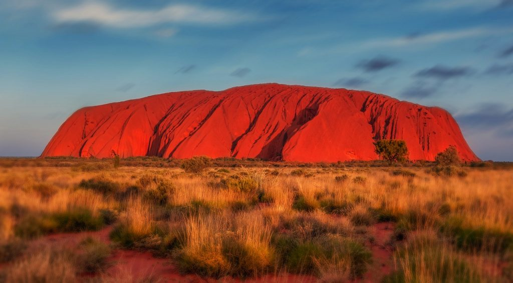 Uluru - Camping under the stars at Uluru is definitely on my Australia Bucket List