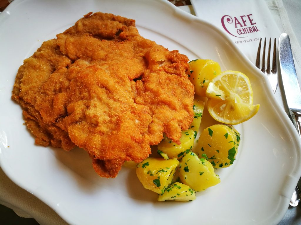 Wiener Schnitzel - What to eat in Vienna - must eat in Vienna