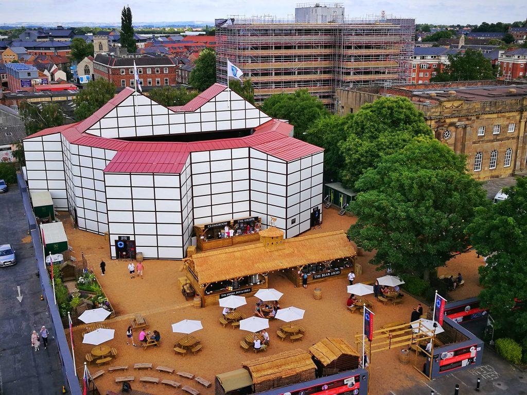 Shakespeare's Rose Theatre in York