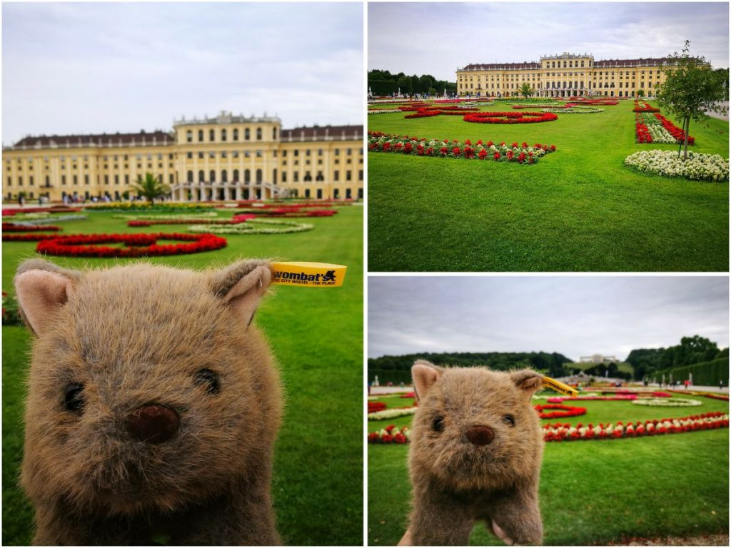 Where's Wagner Wombat - Schonbrunn Palace. Places to Visit in Vienna in 2 Days