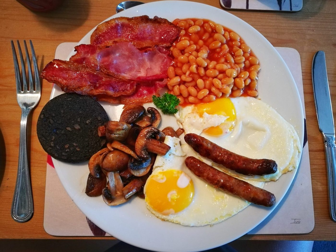 Amazing Food In Yorkshire My Full English Breakfast In Levisham