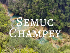Semuc Champey - Backpacking Guatemala