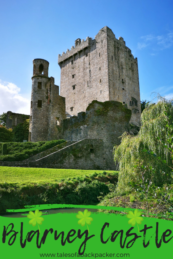 Blarney Castle in Ireland is famous for the Blarney Stone legend, and visitors flock to the castle to stand in line and kiss the blarney stone. However, there is much more to Blarney Castle then I expected, so take your time here and explore Blarney Castle Gardens too. Here's the lowdown on taking a Blarney Castle tour and how to get to Blarney Castle. #BlarneyCastle #CastlesinIreland #BlarneyCastleTour #Ireland #Cork #BackpackingIreland #IrelandTour #Travel #Shamrocker