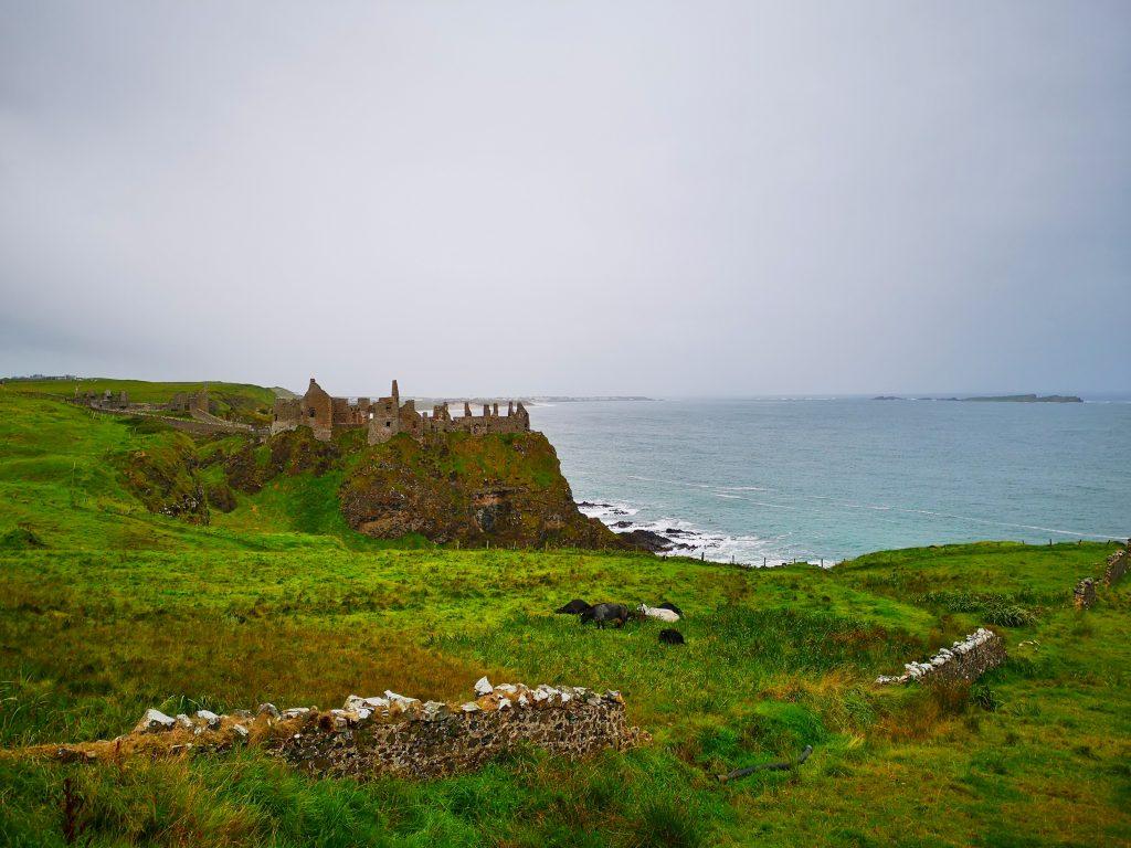 Dunluce Castle near Portrush - Things to do near Portrush Northern Ireland