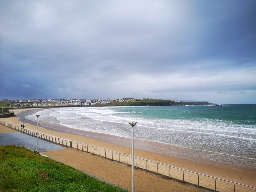 West Strand Beach in Portrush - Things to do in Portrush