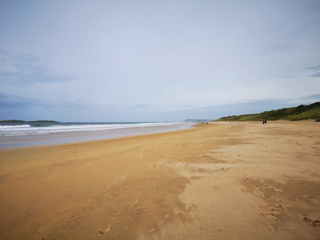 East Strand Beach - A huge beach in Portrush
