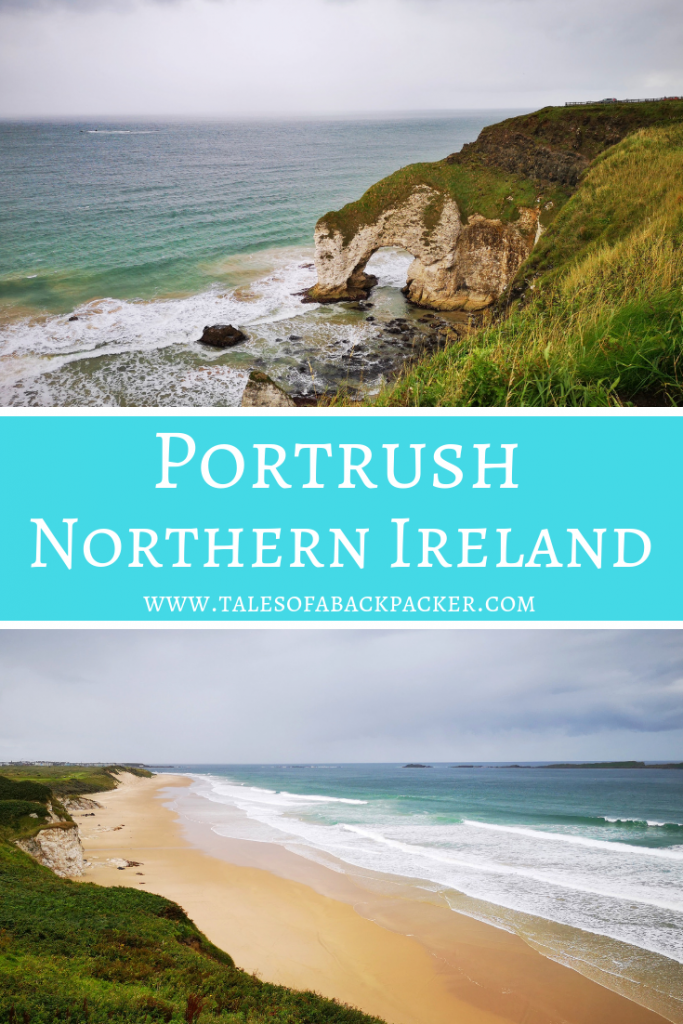 Things to do in Portrush Northern Ireland #Portrush #NorthernIreland #UK #Beaches #WhiteRocksBeach #DunluceCastle #Travel