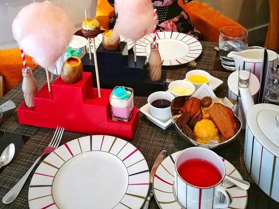 Charlie and the Chocolate Factory Afternoon Tea in London