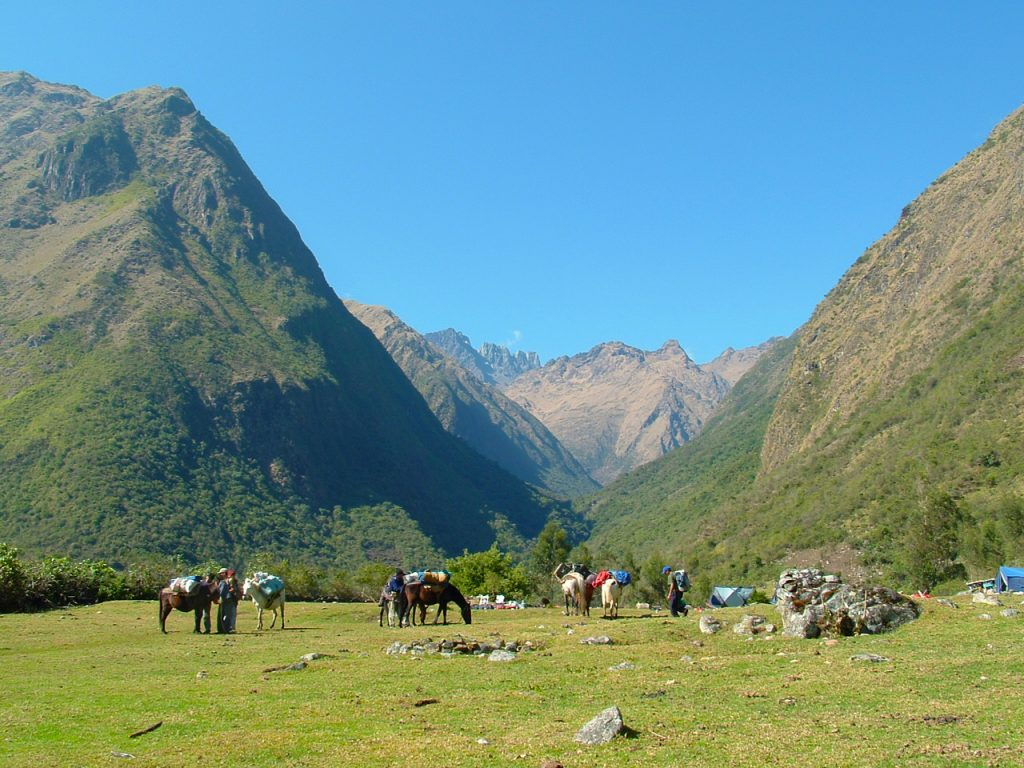 Salkantay Trek Campsite - The best hikes in Peru Hikes and Treks you will love in Peru
