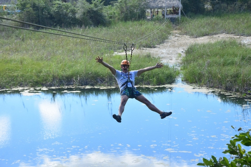 Ziplining is one of the AllTourNative Experiences