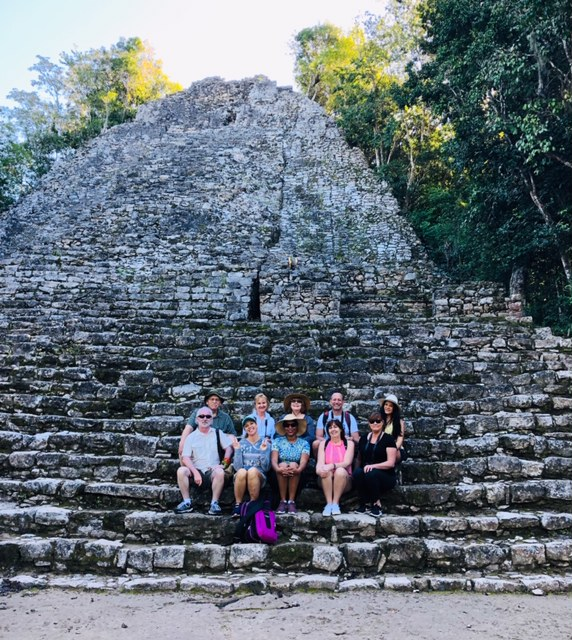 Group visits Coba Ruins with AllTournative Tours