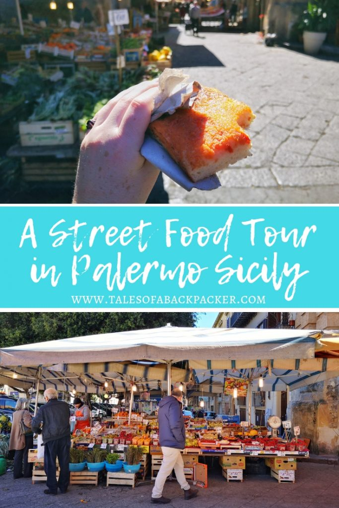 Palermo is famous for its street food. Cheap and simple, street food in Palermo is a delicious way to try lots of local specialities as you explore the markets. However, it can be a little intimidating to know what to choose and where to get it from, so I was thrilled when Palermo Street Food offered to take me on one of their tours to show me what was what. #StreetFood #FoodTour #Sicily #Palermo #Italy #FoodinItaly #StreetFoodTour #PalermoStreetFood