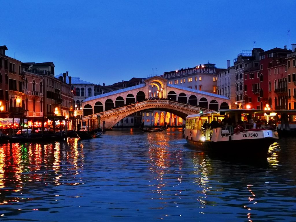 The Rialto Bridge in the Evening - Don't Visit Venice in a Day