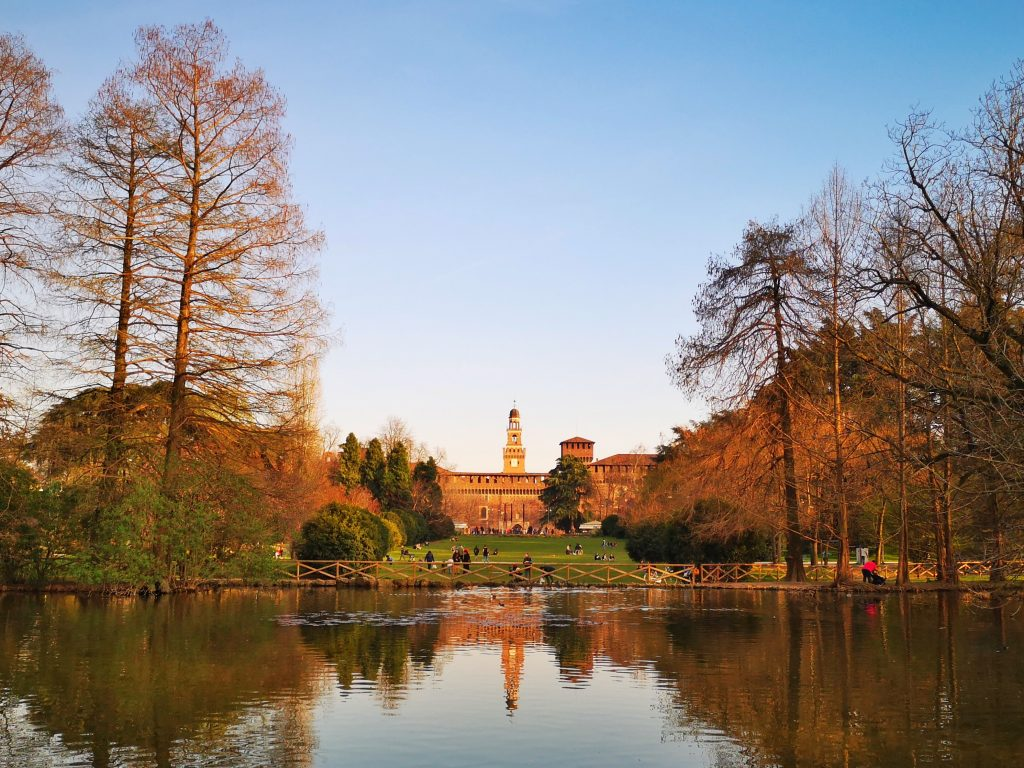 Sempione Park in Milan - Things to do in Milan in 2 Days