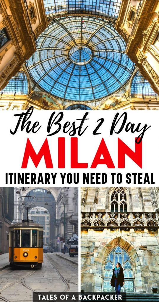 The Best 2 Day Milan Itinerary