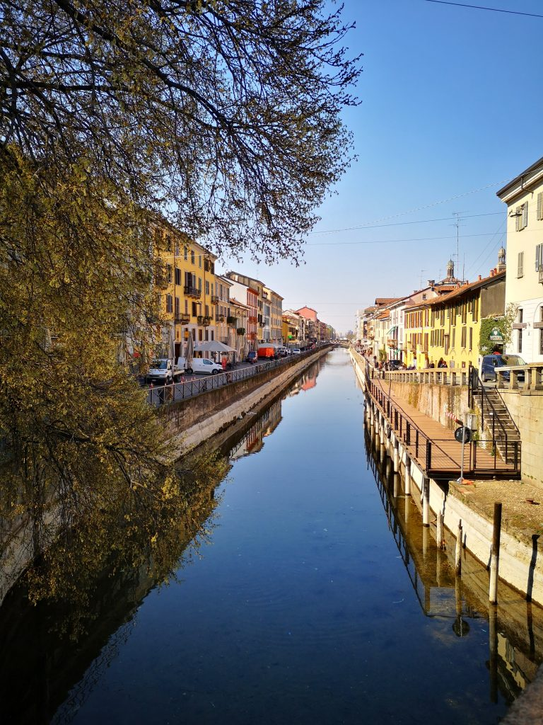 The canals of Navigli - Things to do in Milan in 2 Days