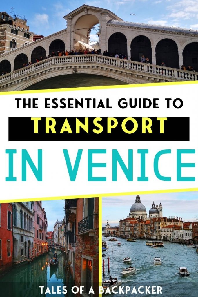 The Essential Guide to Transport in Venice