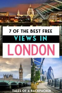 7 of the Best Free Views in London