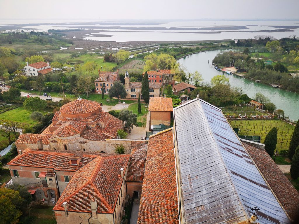 The view from Torcello Cathedral Bell Tower