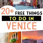 20+ Free Things to do in Venice Italy