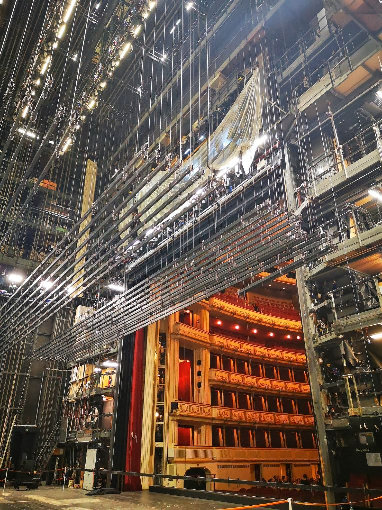 Behind the scenes at the Vienna Opera House - the backstage workings