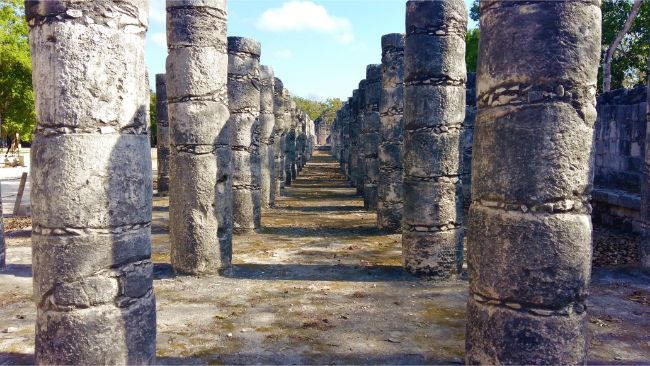 The Group of The Thousand Columns at Chichen Itza