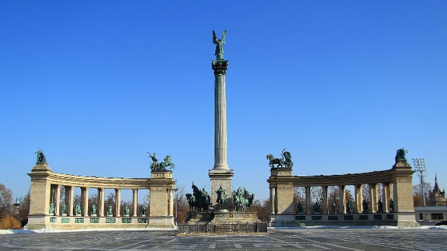 Heroes Square - The Best Free Things to do in Budapest