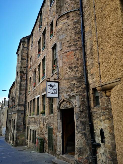 High Street Hostel in Edinburgh