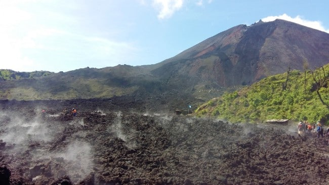 Walking Across Lava Flows on a Live Volcano - The Best Things to do in Guatemala