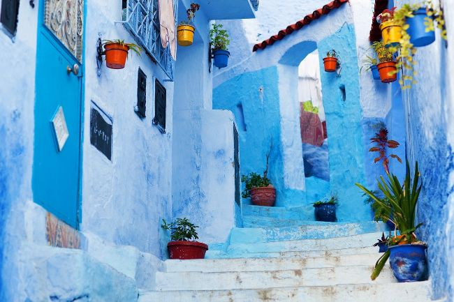 Chefchaouen Morocco - Colorful Cities