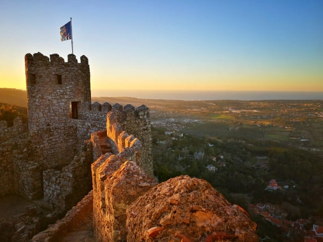 The Moorish Castle in Sintra