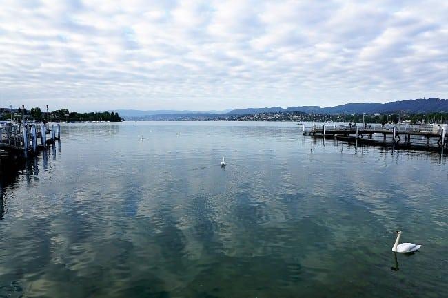 Zurich Lake - 2 Days in Zurich Switzerland
