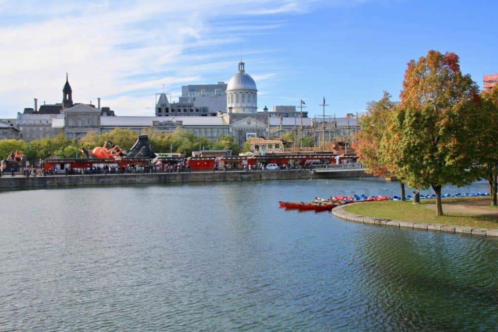 Free Things to do in Montreal Canada - Montreal over the River