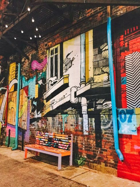 Graffiti in The Belt - Free Things to do in Detroit Michigan
