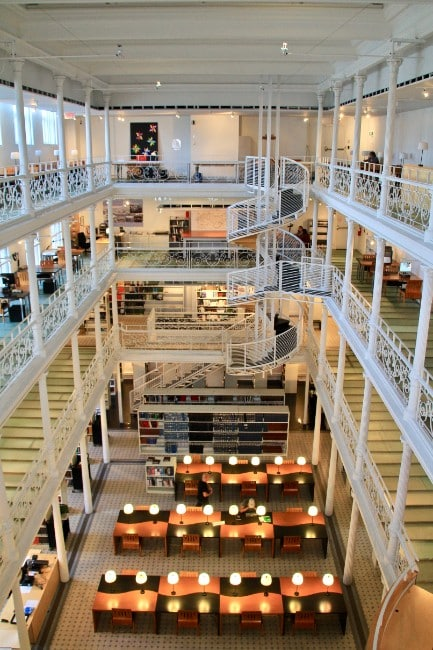 Montreal Library - Free Things to do in Montreal