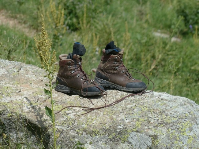 Make Sure Your Boots are Comfortable - Solo Hiking Safety Tips