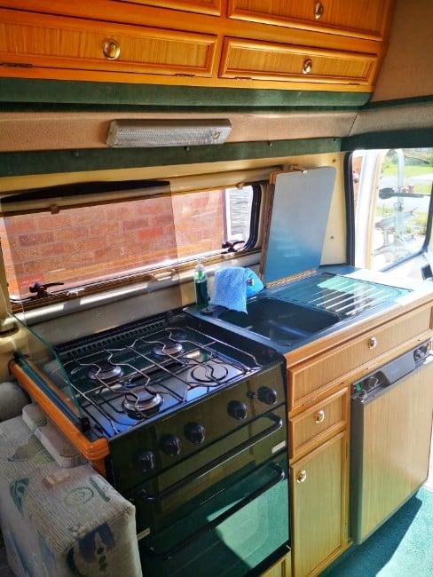 My Campervan Kitchen Area
