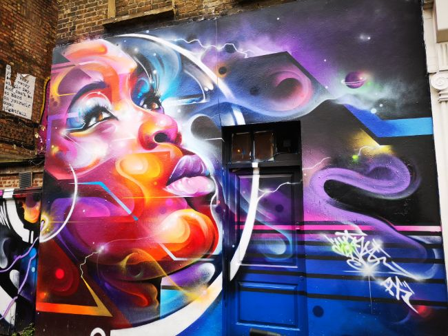 Take Time to Check out the Street Art on Brick Lane - How Long in London
